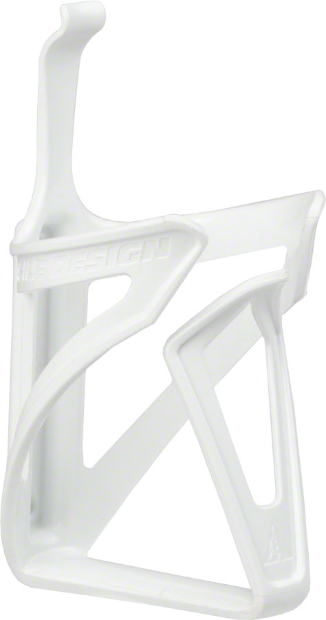 White Profile Design Fuse Bicycle Water Bottle Cage