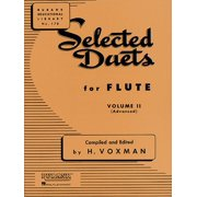 Selected Duets for Flute: Volume 2 - Advanced (Paperback)