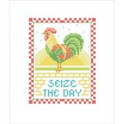 Bucilla Seize the Day Stamped Cross Stitch Kit, 1 Each