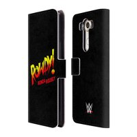 OFFICIAL WWE RONDA ROUSEY LEATHER BOOK WALLET CASE COVER FOR LG PHONES 1