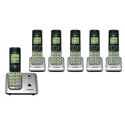 VTech CS6619-6 Eco-Friendly?Cordless Phone w/ 5 Additional Handsets