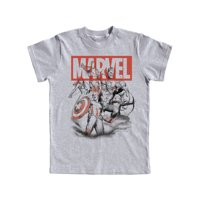 Disney Youth Avengers Assembled Captain America Thor & Hulk Medium Tee