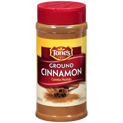 (2 Pack) Tone's: Ground Cinnamon, 8 Oz
