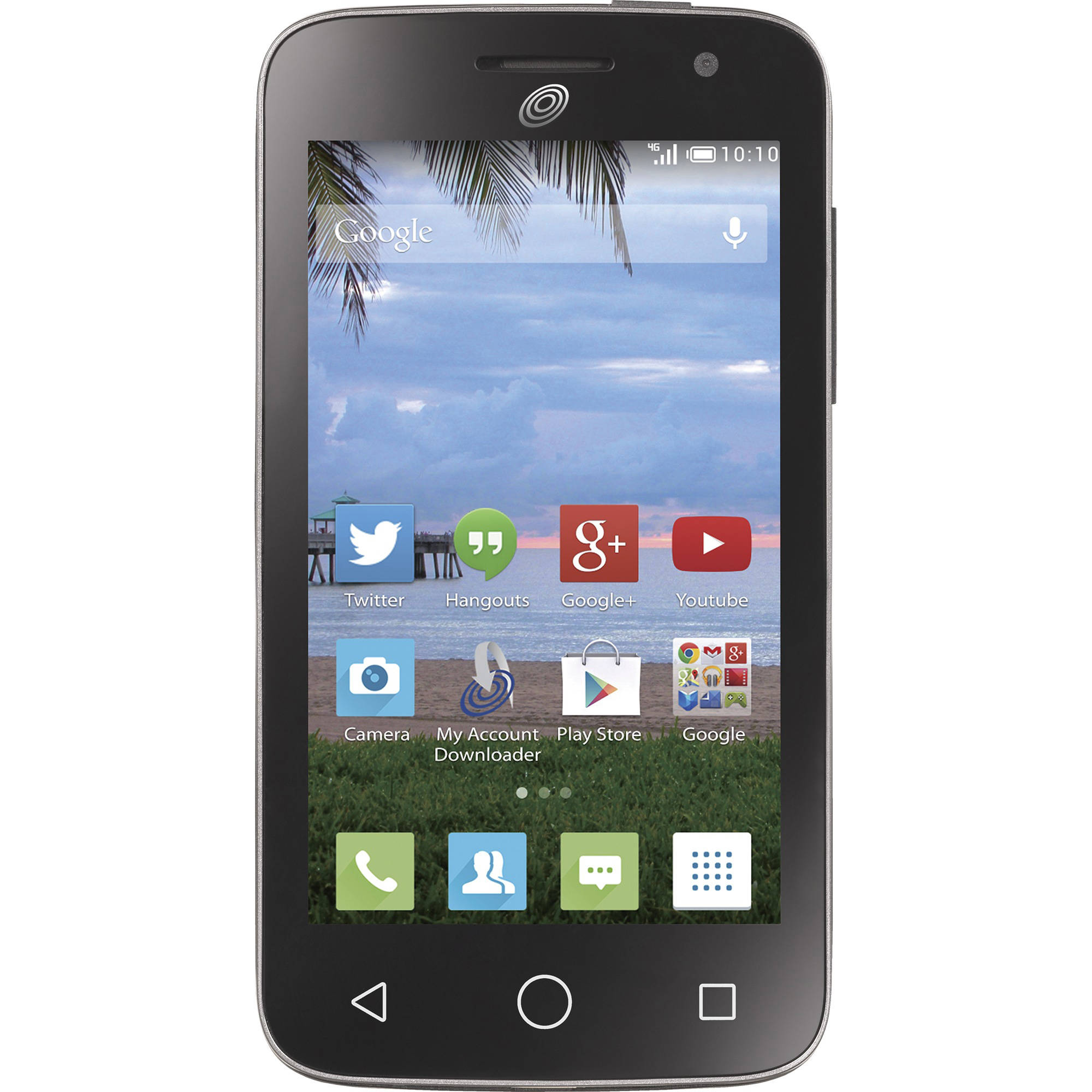 Refurbished Straight Talk Alcatel onetouch Pop Star 2 Prepaid Smartphone and $45 30-Day Unlimited Plan