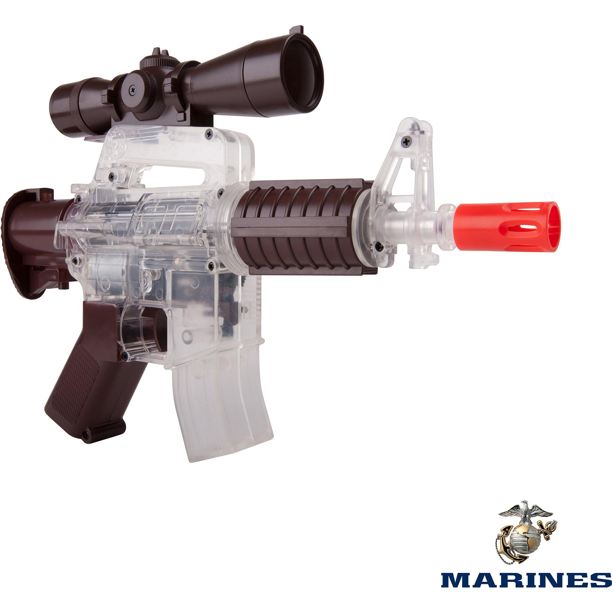 Crosman U.S Marines MR01 Airsoft Close Support Mini Rifle, Coyote Brown