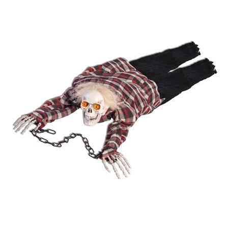 Crawling Skeleton Animated Halloween Prop - image 1 de 1