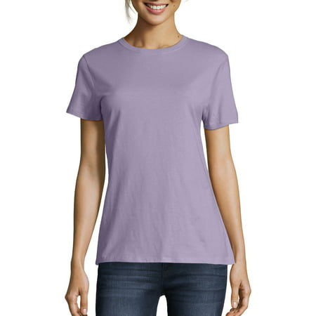Women's Lightweight Short Sleeve Scoop neck T-Shirt