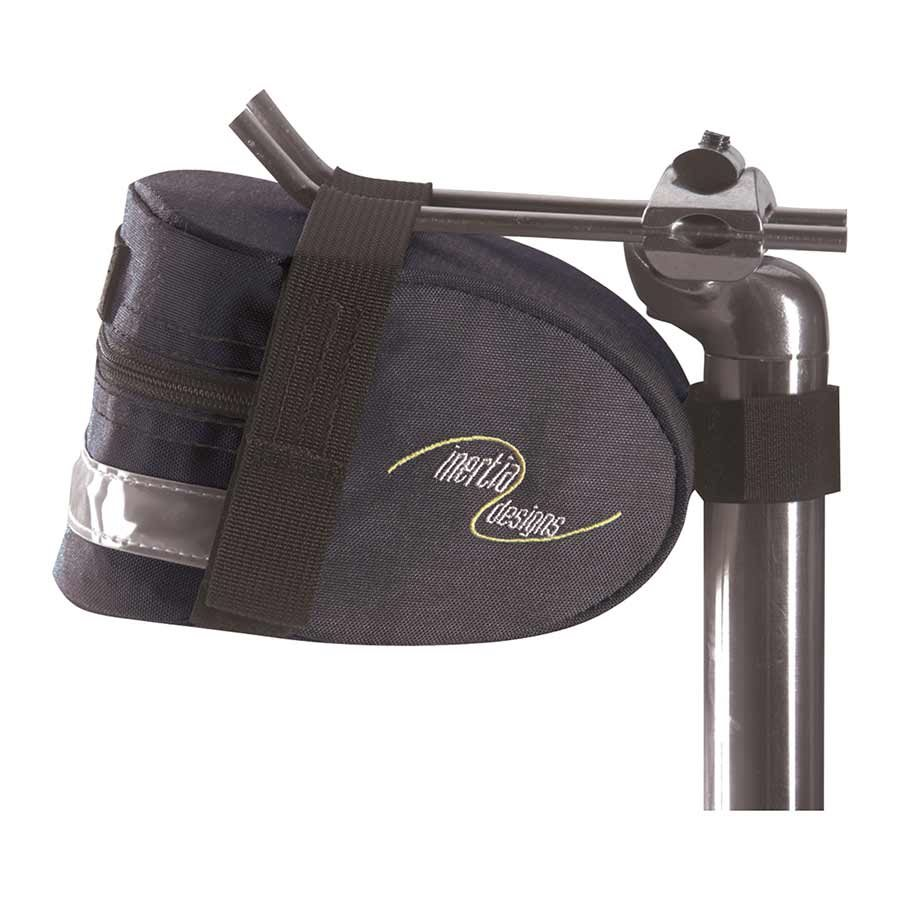 Inertia AT Wedge Bicycle Saddle Bag - Black - 2100