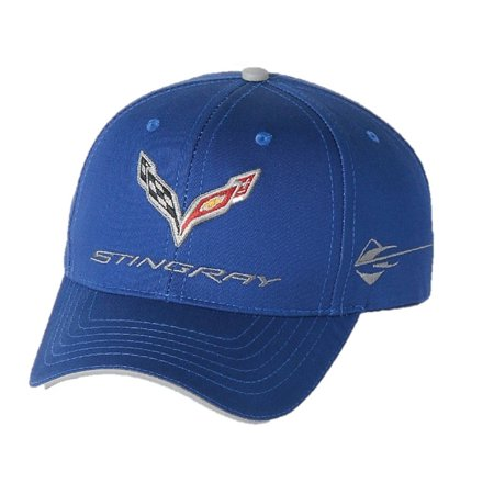 9743ffce20999 C7 Corvette Stingray Car Color Matching Hat Cap - Embroidered (Laguna Blue)