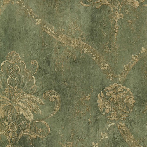 Norwall Wallcoverings Inc Grand Chateau 32.7' x 20.5'' Regal Damask Wallpaper Roll