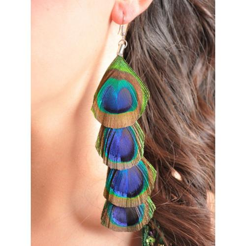 Feather Hook Earrings