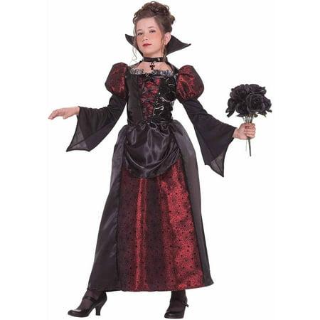 Miss Vampire Girls' Child Halloween Costume - Vampire Halloween Clipart
