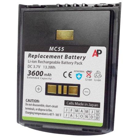 Motorola / Symbol MC55 & MC65 Series: Replacement Battery. 3600 mAh Extended Capacity