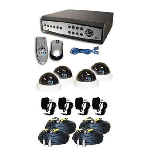 NuMedia A-BR2M4-A 4-Channel Surveillance DVR Combo Kit