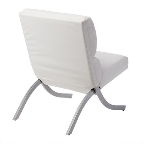 Tremendous I Love Living Rialto Bonded Leather White Chair Walmart Com Alphanode Cool Chair Designs And Ideas Alphanodeonline