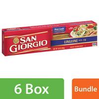 (6 Pack) San Giorgio No. 19 Linguine, 16 oz. Box