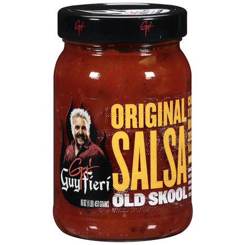 Guy Fieri Medium Original Salsa: Old Skool, 16 oz