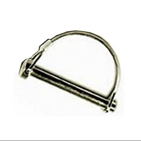 Hitch Pin, Wire Lock, Round, 1/4 X 1-3/4\