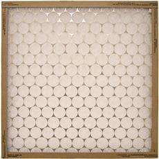 Flanders Ez Flow Merv 4 Flat-Panel Fiberglass Air Filter, 20X25X2 In., 12 Per Case