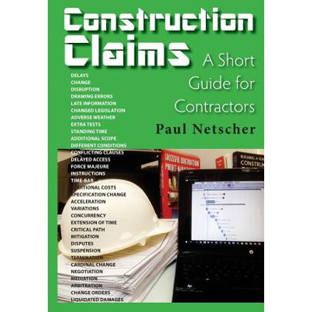 Construction Claims : A Short Guide for Contractors - Walmart com