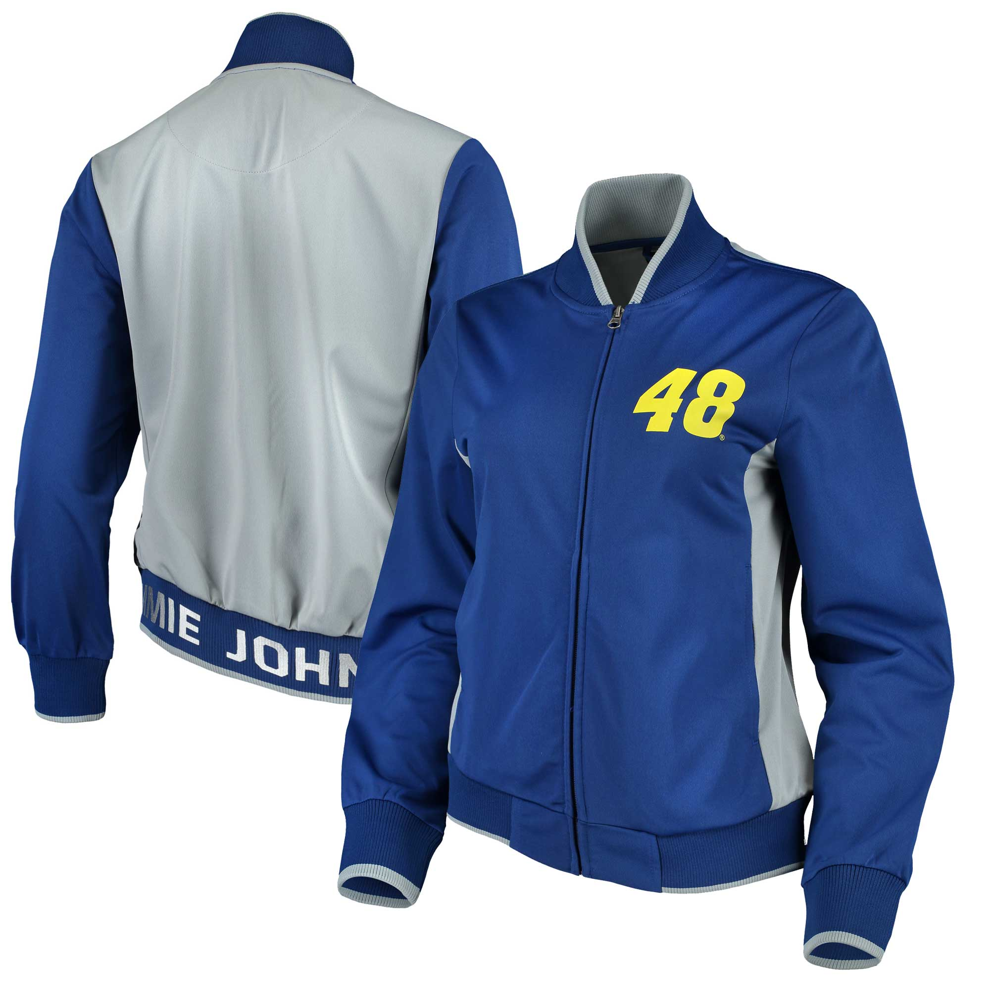 Jimmie Johnson G-III 4Her by Carl Banks Women's Triple Track Jacket - Royal