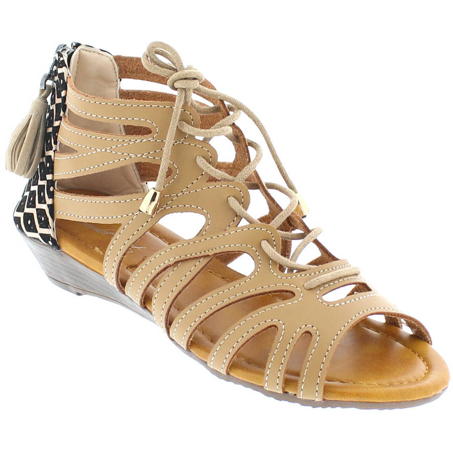 Shoes of Soul Women's Lace Sandal
