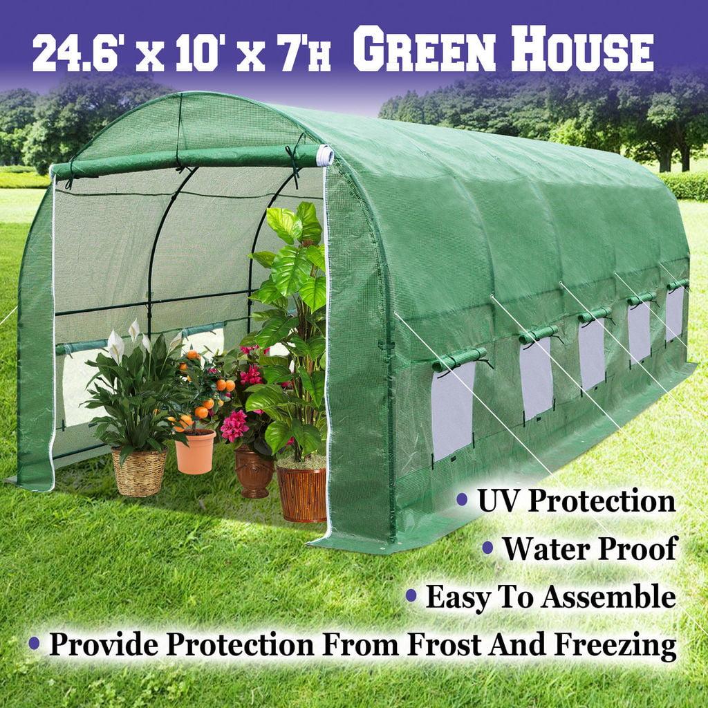 WeatherGuard Greenhouse 65 H x 8 W x 8 L Walmartcom