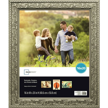 Mainstays 16x20 Silver Poster Frame (Gold Military Frame)