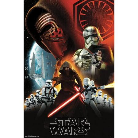 24x36 Star Wars: The Force Awakens - Dark Side