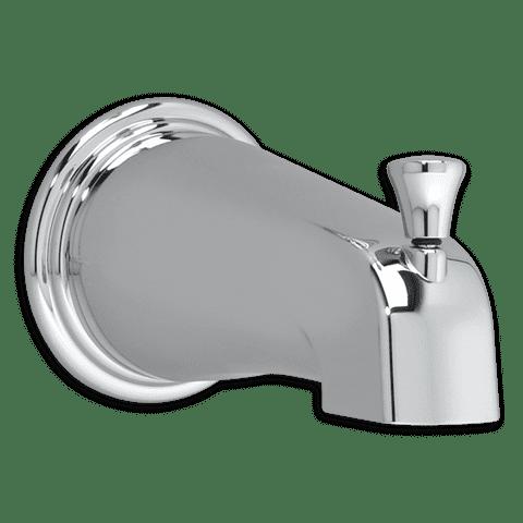 American Standard Portsmouth Slip-On Diverter Tub Spout in Chrome