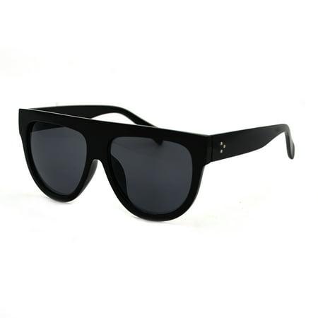 1565915da2 Pop Fashionwear Inc. - Women s Fashion Flat Top Super Future Retro Vintage  Sunglasses P4156 - Walmart.com