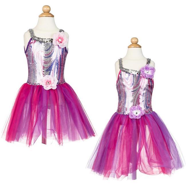 DDI 2132905 Girls Rainbow Sequin Top Dress - Case of 24