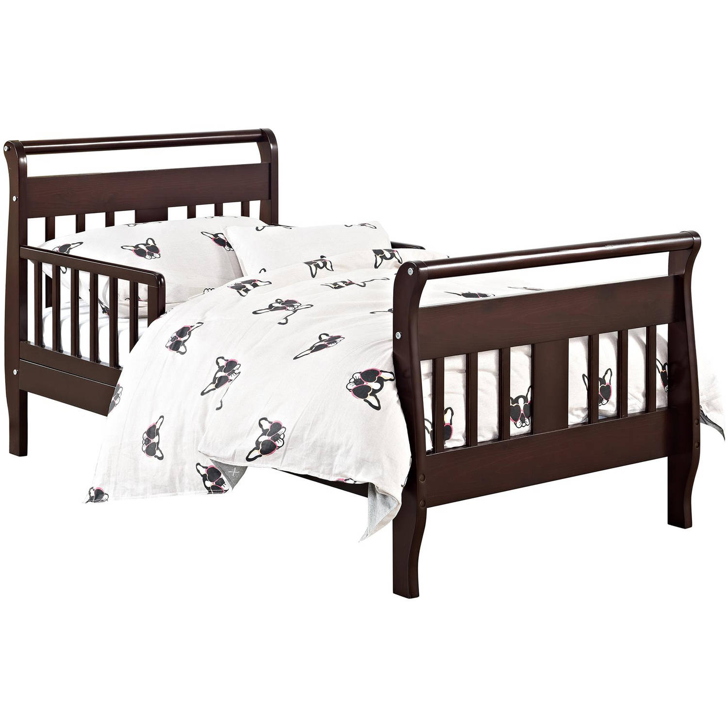 Baby Relax Sleigh Toddler Bed, Espresso
