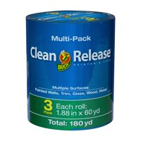 Deals on 3-Pack Duck Brand Clean Release Painter's Tape