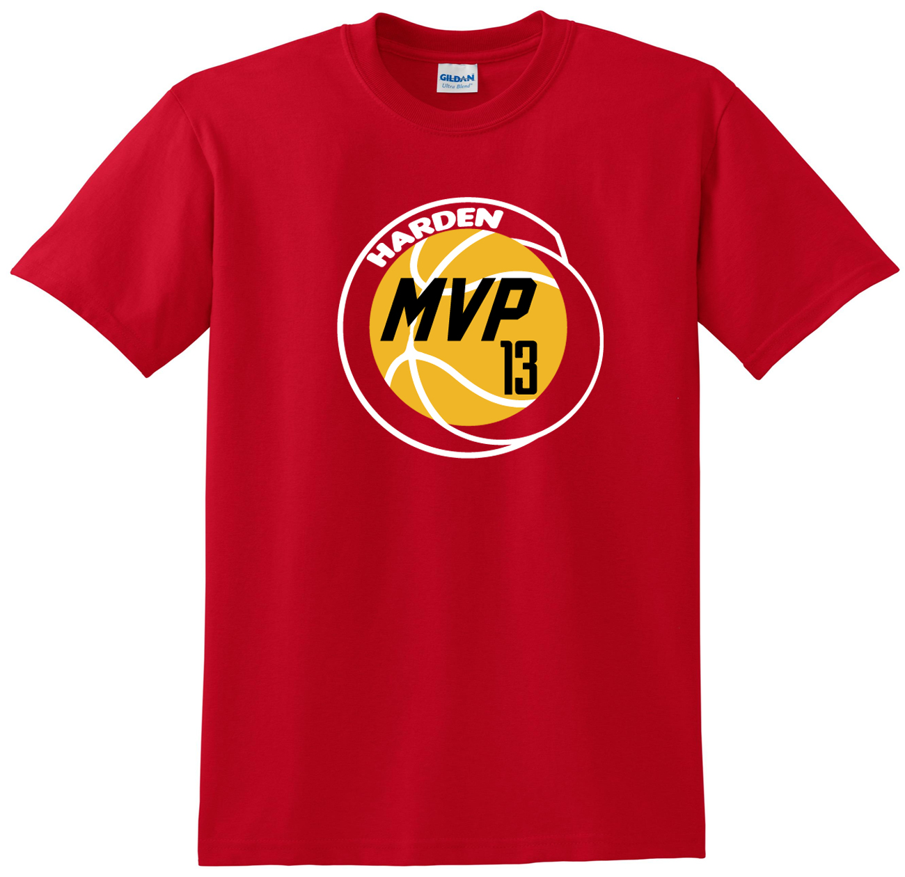 """Shedd Shirts Red James Harden Houston Rockets """"Harden MVP"""" Youth Small T-Shirt by"""