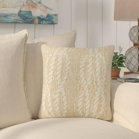 Breakwater Bay Lowes Ropes Indoor Outdoor Throw Pillow Walmart Com