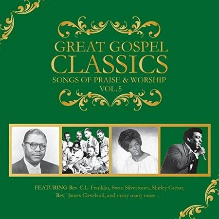Great Gospel Classics: Songs Of Praise & Worship, Vol. 5 (Digi-Pak)