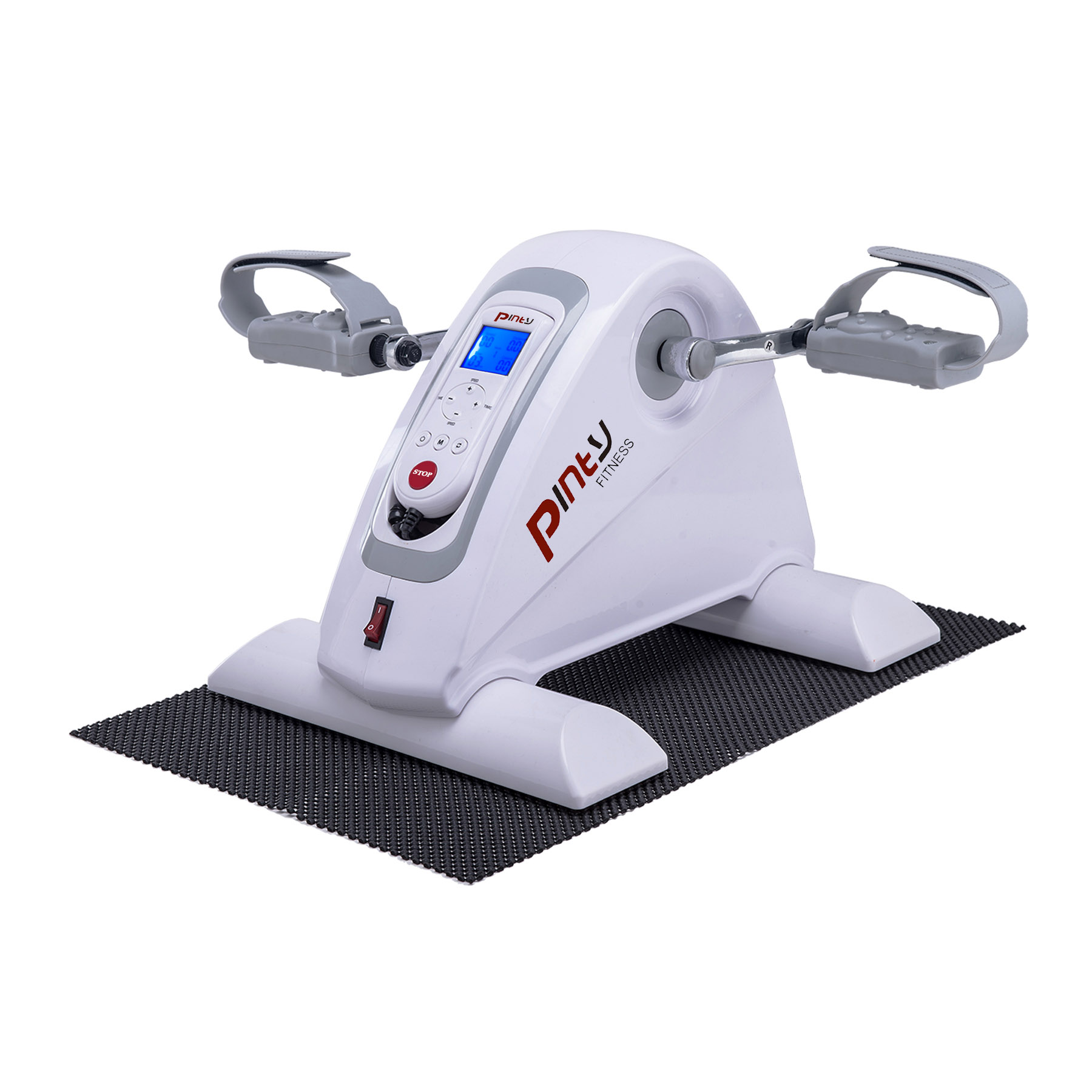 Pinty Motorized Mini Electric Exercise Bike /Pedal Cycle Rehabilitation White