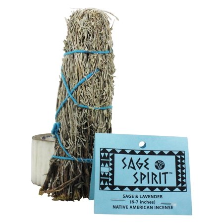 Sage Wand - Sage Spirit - Smudge Wand Large Sage & Lavender - 6 in.