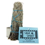 Sage Spirit - Smudge Wand Large Sage & Lavender - 6 in.