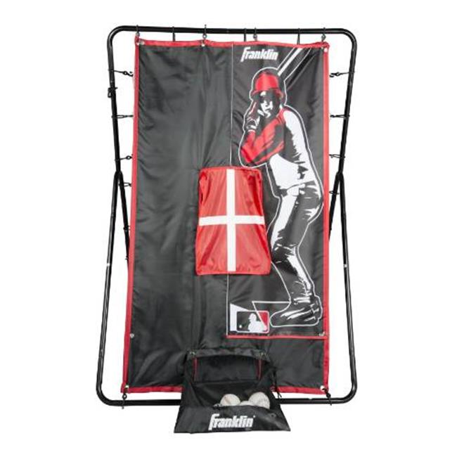 Franklin Sports 24803 Sports MLB 55 in. 2-in-1 Switch Hitter Return Trainer