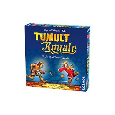 Tumult Royale Board Game, Created by Klaus Teuber, author of The Settlers of Catan, in collaboration with his son Benjamin Teube By Thames Kosmos,USA