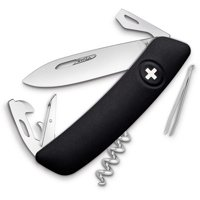 D03 Swiss Pocket Knife Black