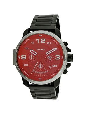 Diesel Men's Whiplash DZ4434 Black Stainless-Steel Japanese Quartz Dress Watch