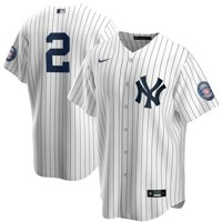 Derek Jeter New York Yankees Nike 2020 Hall of Fame Induction Replica Jersey - White/Navy