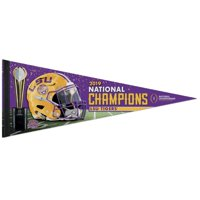 LSU Tigers WinCraft College Football Playoff 2019 National Champions 12'' x 30'' Premium Pennant