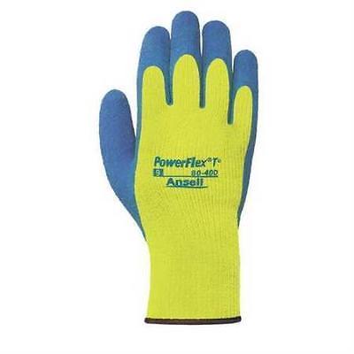 Cut Resistant Gloves, L, Blue/Yellow, PR