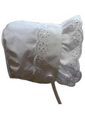 5be5ca5166ef Product Image NICE CAPS Baby Girls Infants Closed Back Summer Sun Bonnet  Cap Hat Headwear