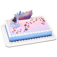 DecoPac 24246 Decorations Disney FROZEN 2 Mythical Journey Children/Kids Birthday Party Cake Topper, 2 Piece, Multicolored