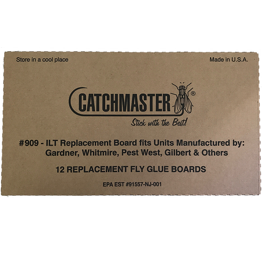 Catchmaster 909 Universal Replacement  Glue Boards for  Vector and Gardner Fly Lights